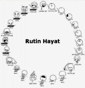 rutin hayat